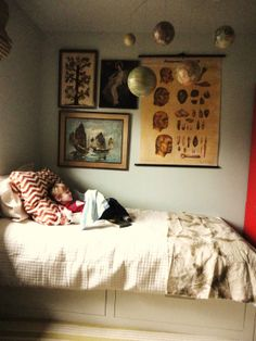 Boy's room. Love.