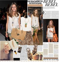 """""""New York Fashion Week Front Row Report ( Olivia Palermo )"""" by dora04 ❤ liked on Polyvore"""