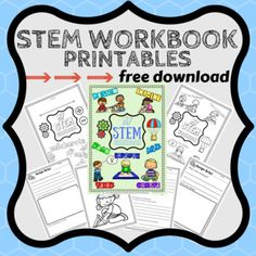 FREE DOWNLOAD  This complete printable workbook set includes: Cover page for juniors (can be used as a color-in) Cover page for seniors (can be used as a color-in) Design Brief worksheet for K-2 (larger writing, larger line spacing, more space for drawing and less text) Design Brief worksheet for 3-6 Design Changes worksheet for