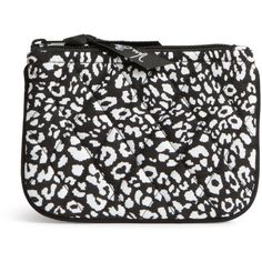 Vera Bradley Coin Purse in Camocat ($14) ❤ liked on Polyvore featuring bags, wallets, camocat, vera bradley, coin bag, zip top bag, change purse wallet and coin purse