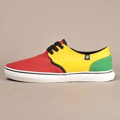 "DVS Ragtop ""Rasta"" sneakers"