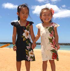 Super Duper Cute Lil' Hawaiian Girls