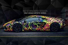 Wrapstyle Slovakia Aventador Art Car Wrap