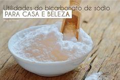 Utilidades do bicarbonato de sódio para a casa e beleza