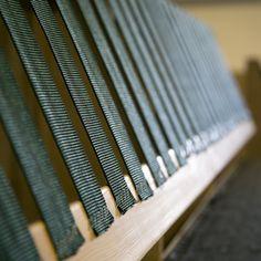 TEHDÄÄN HYVIN | HANDMADE QUALITY Työvaihe: Selkänojarungon istuinremmit | Craft: Back frame webbing  Tuotantolinja: Sohvat | Production line: Sofas  #pohjanmaan #pohjanmaankaluste #käsintehty