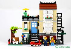 LEGO 31065 Park Street Townhouse 3-in-1 [Review]