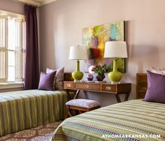 guest bedroom | Kathryn J. LeMaster Art and Design