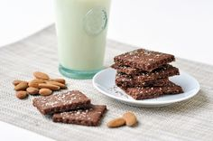 Chocolate Almond Crackers — RealFoodSource