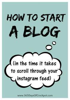 How do I start a blog? Step by step tutorial
