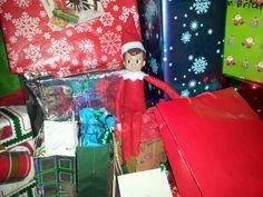 Elf is caught snooping
