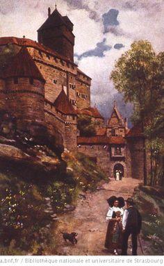 Haut Koenigsbourg - 1911 H.Hoffmann