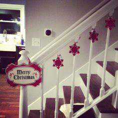 stairway decorating