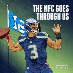 2014 NFL Playoffs Seattle Seahawks