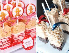 rice krispie birthday cake ideas   rice krispies treats for christmas