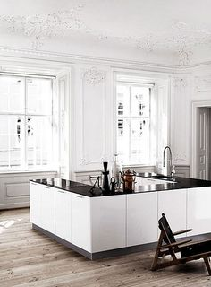 white kitchens | by the style files