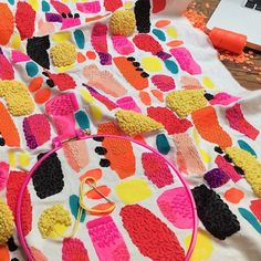 I love this series. How Did You Do That? Liz Payne's Vibrant, Highly-Textured Embroideries: