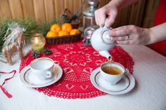 Cosy New Year with tea