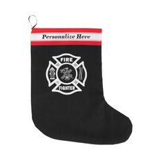 Firefighter Christmas Stockings Personalized