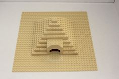LEGO Egyptian Pyramid.....with a surprise.  The top comes off to reveal sarcophagus inside.