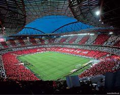 Digam o que disserem, temos o estadio mais lindo.  #CarregaBenfica pic.twitter.com/1mY6exQIWA