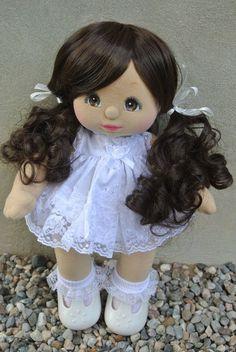 ooak my child doll dyed hispanic
