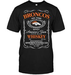 Broncos Apparel, Broncos Shirts, Penguins, Tees, Mens Tops, T Shirt, Stuff To Buy, Black, Supreme T Shirt