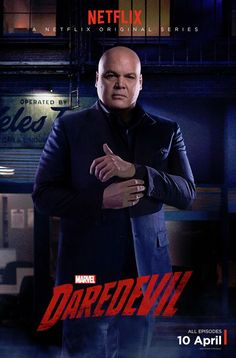 Wilson Fisk #Daredevil #Netflix - Vincent is building Fisk perfectly, at least that is what I think