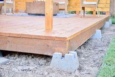Floating Deck Build