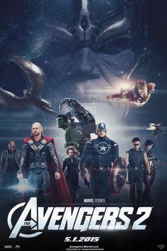 The Avengers 2 (FAN-MADE) Movie Poster v8 by DiamondDesignHD on DeviantArt