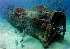 Papua New Guinea, Scuba Diving - Dating from World War II. It has many sunken warship