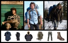 "How To Dress Like Emile Hirsch In ""Into The Wild"" 