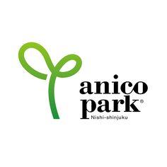 anico park西新宿のロゴマーク。 anico park は「いのちのつながり」をテーマとした複合施設で、人間や愛�