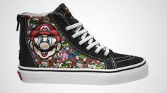 Nintendo and Vans Collab on Sneakers That Gamers Will Love Featuring Mario, Donkey Kong, and more. 5/3/2016