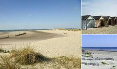 West Wittering, Sussex This small parish a few miles outside of Chichester is most famed for its golden sands and dunes, it's also been noted to have 'excellent water quality'. Uk Beaches, Sandy Beaches, West Wittering, Fun Days Out, Chichester, Water Quality, Open Water, Beach Fun, Sands