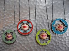 Quite freaky! Jewelry designed from Barbie parts...oh my.  by Margaux Lange