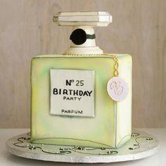 Chanel birthday cake Zsazsabellagio