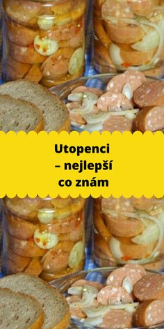 Utopenci – nejlepší co znám Beef, Chicken, Cooking, Food, Meat, Kitchen, Essen, Meals, Yemek