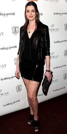 Look of the Day - April 11, 2010 - Anne Hathaway from #InStyle