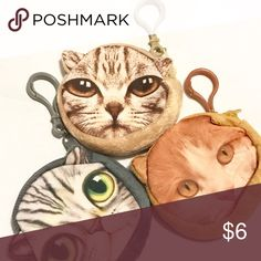 Spotted while shopping on Poshmark: Kitty Coin Purses! #poshmark #fashion #shopping #style #UNIF #Accessories