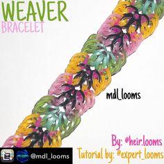 Rainbow Loom Tutorials, Rainbow Loom Patterns, Rainbow Loom Creations, Rainbow Band, Rubber Band Bracelet, Rainbow Loom Bracelets, Loom Bands, Rubber Bands, Easy