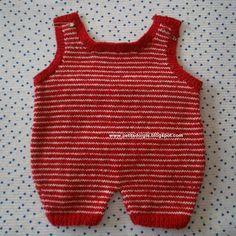 Petits doigts: Ensemble barboteuse, pull et chaussons en 6 mois