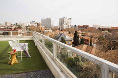Preciosa #terraza con vistas de #Madrid