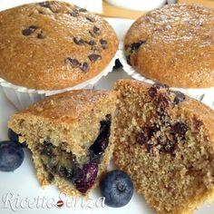 Muffins integrali senza zucchero bianco, uova e latticini http://www.ricettesenza.it/le-ricette/item/140-muffins-integrali-senza-zucchero-bianco-uova-e-latticini.html