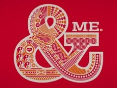 """Another awesome ampersand + """"me."""""""