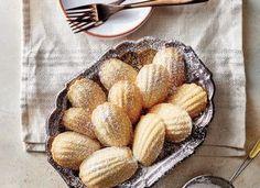 Vanilla Madeleines with Cardamom Sugar