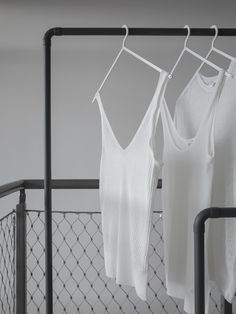 vosgesparis: Styling and clothes rack inspiration from the present and the past Dream Apartment, Stunning View, Minimal Fashion, Wardrobes, Scandinavian Design, Capsule Wardrobe, Pretty Outfits, Basic Tank Top, The Past