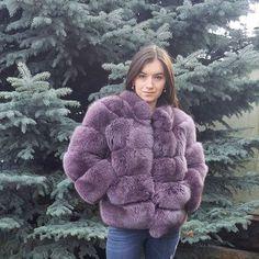Blue Fox fur jacket  Куртка из меха песца#inviernofurs #sagafurs #foxjacket #naturalfur #шубаизпесца #курткаизмеха