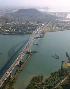 Bridge of Americas, Panama - traveled this bridge countless times while being stationed at ft. kobbe and needing to get to panama city.