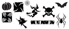 FREE SVG KLDezign les SVG: Halloween pack 1  pinwheels wind