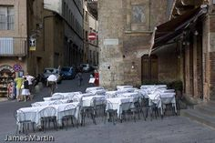 Piazza del Campo, Siena, Tuscany - don't eat here when the big horse race is on!!